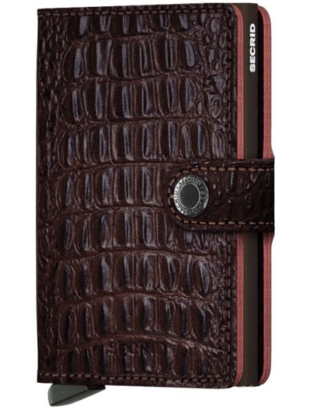Secrid  Portemonnee Secrid  Miniwallet Nile Brown