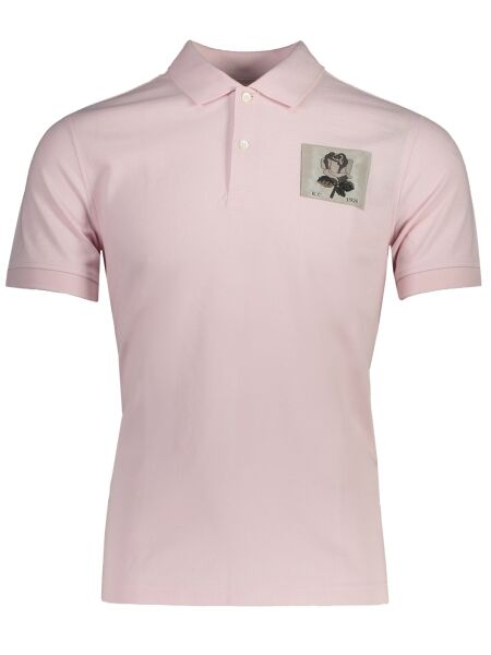 kent & curwen Small Rose Polo Light red