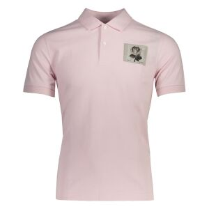 Small Rose Polo Light red
